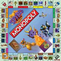 Spyro the Dragon Monopoly