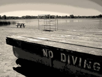 No Diving by LilyNBlue