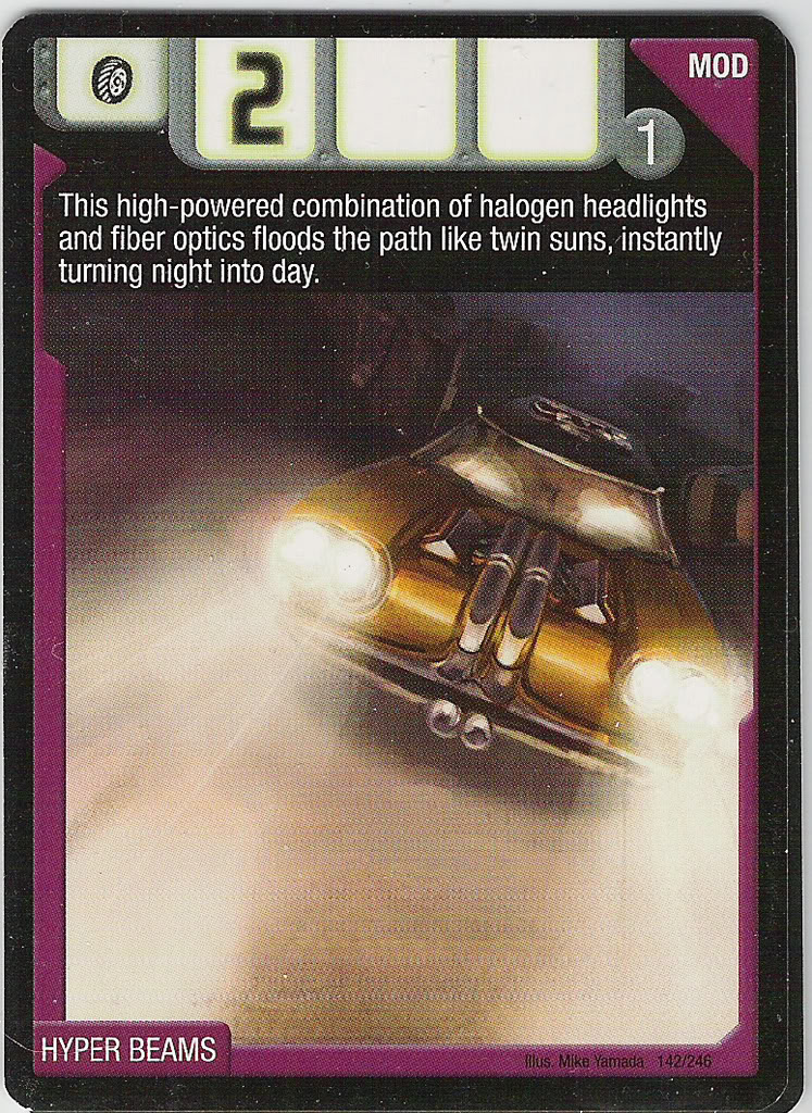 AcceleRacers Card Game: Hyper Beams by Muscle-Tone-01 on