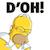 Homer D'oh!