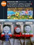 Gordon, James, and Henry hate Kamp Koral