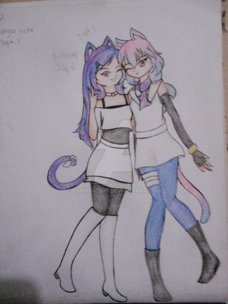 Eunha and Haneul by BunnyAyuki