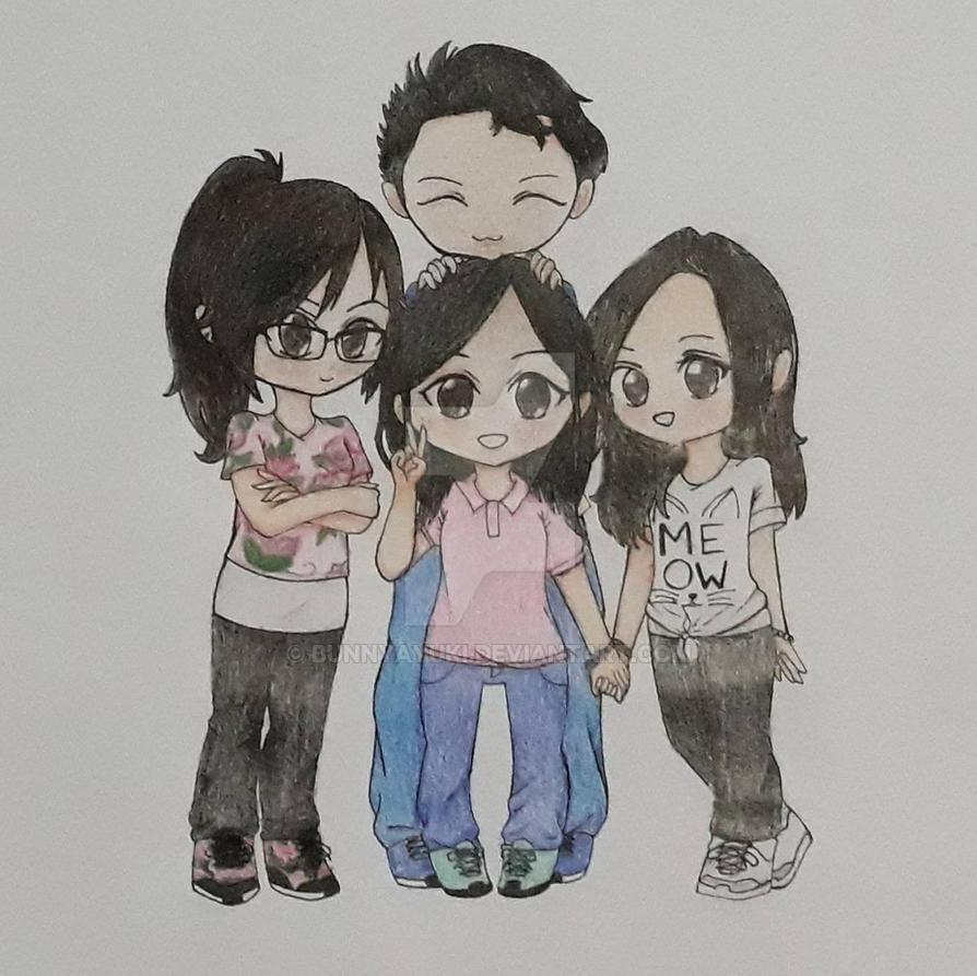 4 Friends by BunnyAyuki