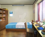 SoE Game Background - asumi Dorm Room