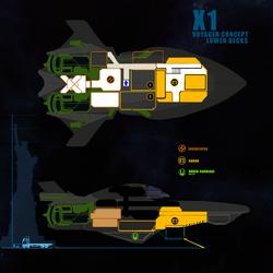 Starlight - Interior Layout Utilities Deck by DharkerStudio