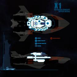 Starlight - Interior Layout Crew Deck by DharkerStudio