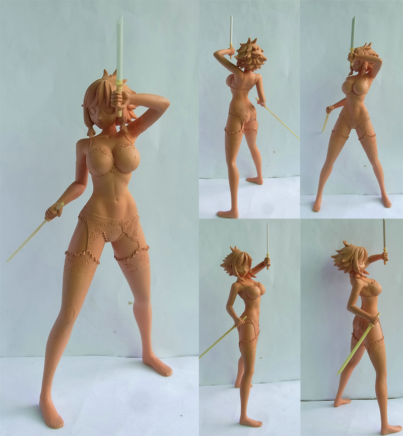 Asumi base Sculpture by Dharker