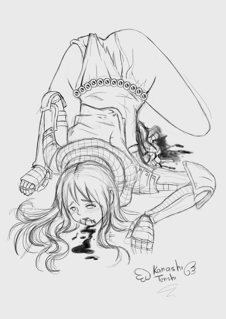Guro Sketch by KanashiTenshi