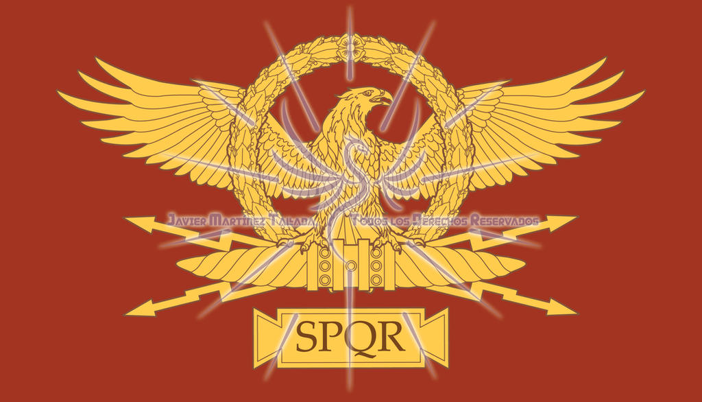 Roman Spqr Wallpaper Roman Eagle SPQR by Ja...