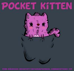 Pocket Kitten (March, 2019) by RobmanCartoons
