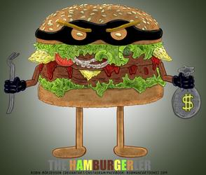 The Hamburgerler (April, 2019) by RobmanCartoons