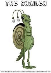 The Snailen (April, 2019) by RobmanCartoons