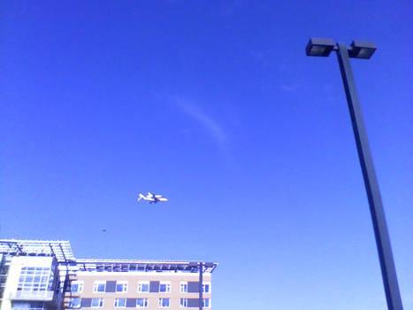 Space Shuttle Endeavor (Retired) Fly-Over
