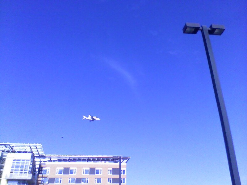Space Shuttle Endeavor (Retired) Fly-Over by JRigh