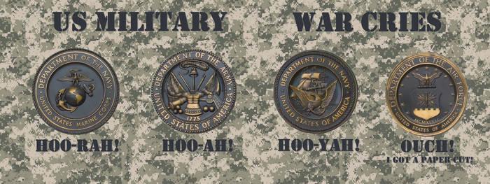 US Military War Cries - JRigh