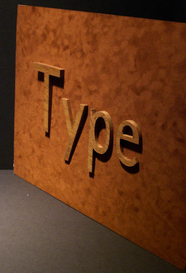 Typewood by longdesinzzz