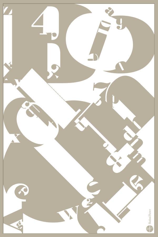 Bodoni Font Poster by longdesinzzz on DeviantArt
