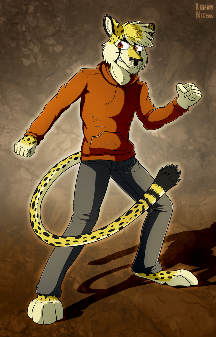 Leon Krueger by LupusNic