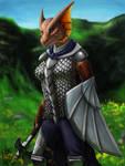 Kavarra Dragonborn Warrior