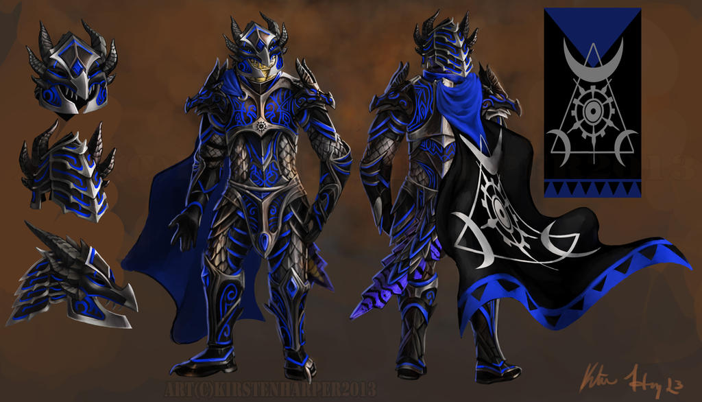 Dragon Bane Armor+helm And Cloak By Tidma On DeviantArt