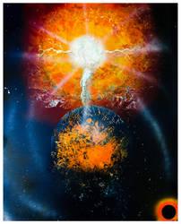 Destroying the Earth by rahulmukerji