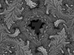 Mandelbrot in the fallen leaves