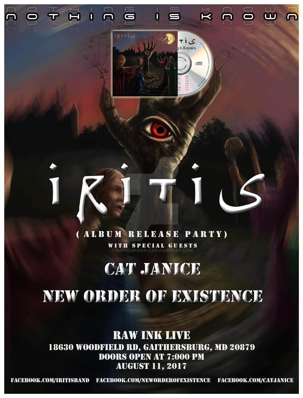 Iritis Poster Design by rahulmukerji