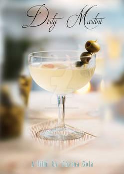 Dirty Martini Poster Design 01