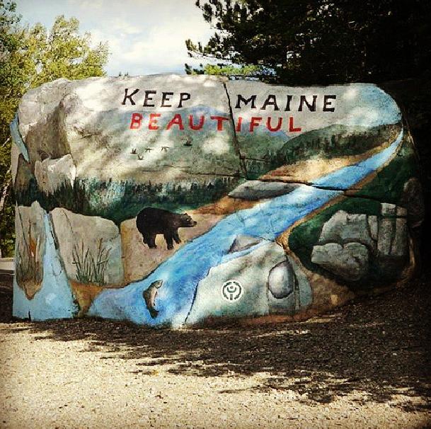 Keep Maine Beautiful by ErinMariel