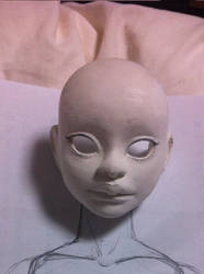 Doll project face detail by Dagger-teh