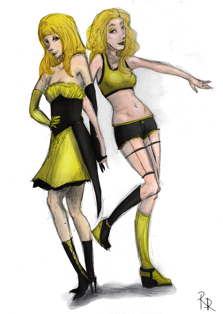 • Concours event#6 - VOTES Yellow_and_black___eugenia_et_silver_by_redmarian-d80hodk