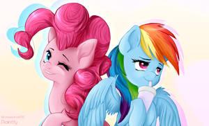 Pinkie Pie, Rainbow Dash
