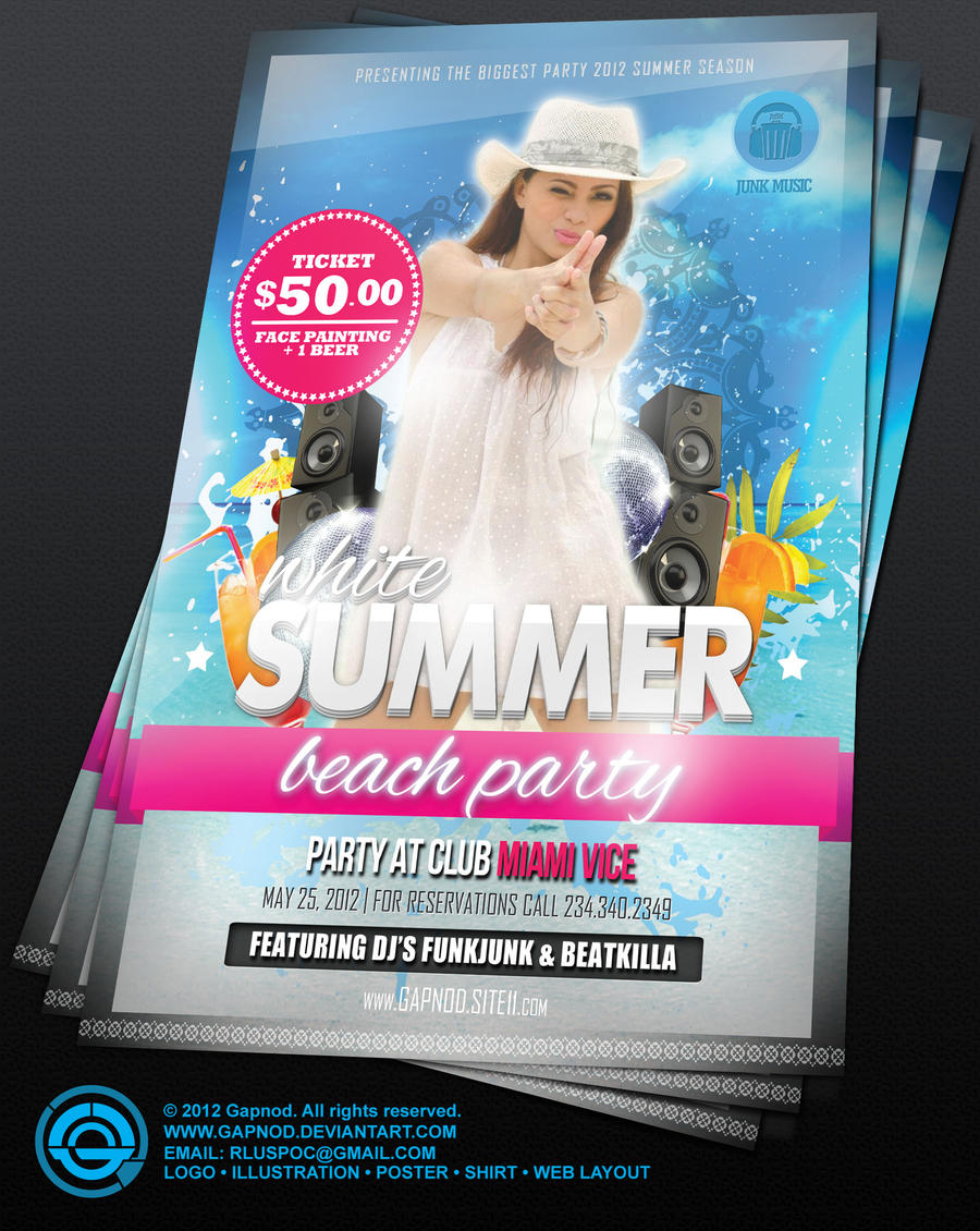 party flyer sample by gapnod on party flyer sample by gapnod party flyer sample by gapnod