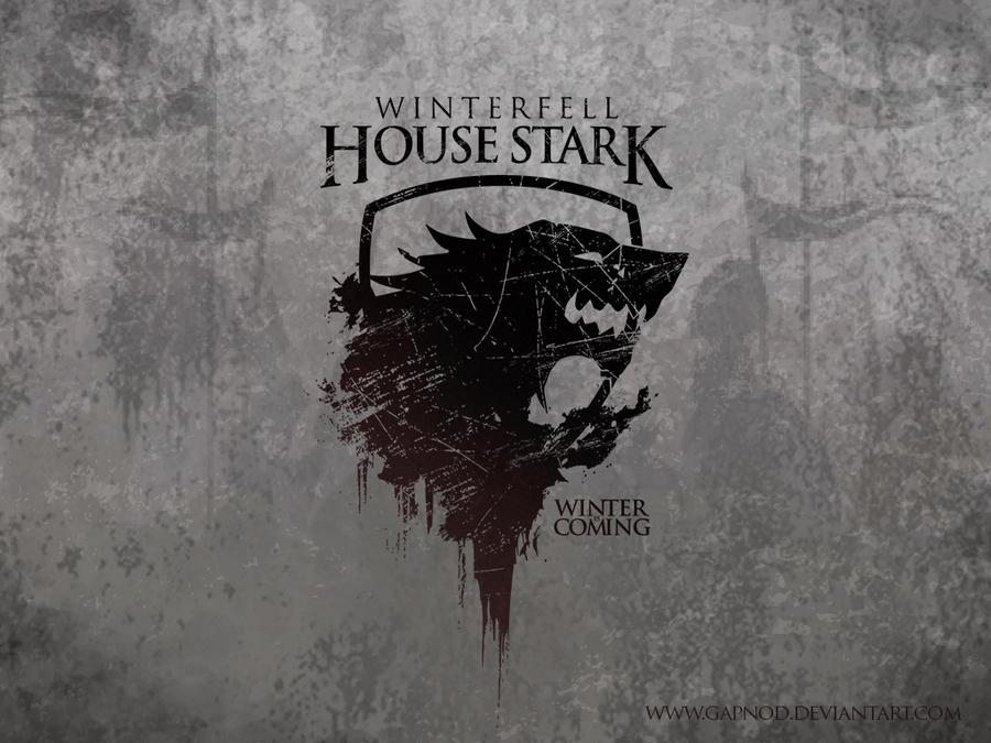House Stark: Fan Boy Wall By Gapnod ...