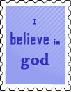 i believe in god stamp by Rouky
