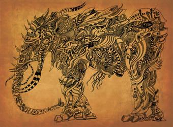 Mastodon by swordsman117