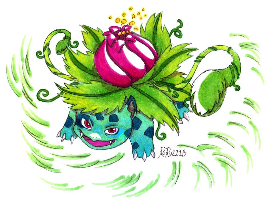 Ivysaur by Rory221B