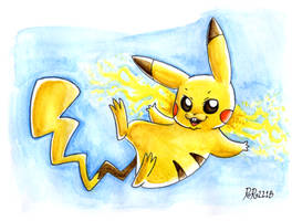 Pikachu by Rory221B