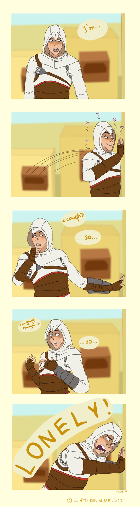 Lonely Altair by LilayM