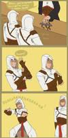 Altair's finger