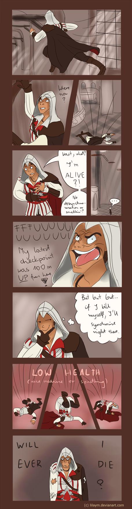 Suicidal Ezio by LilayM