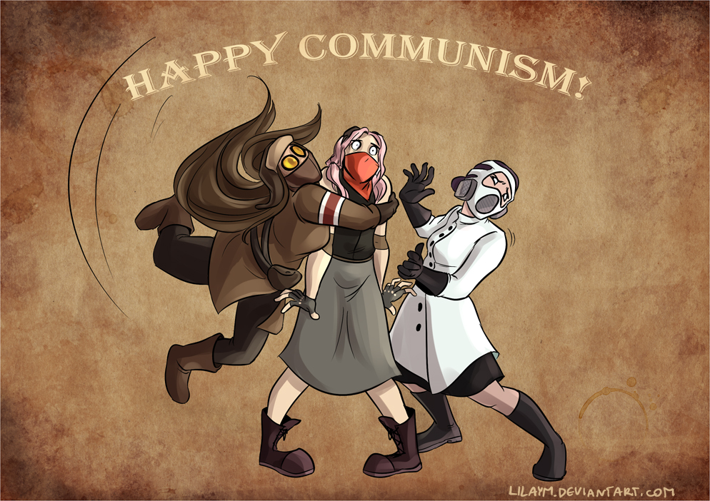 Happy communism! by LilayM