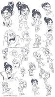 Wreck-it doodles