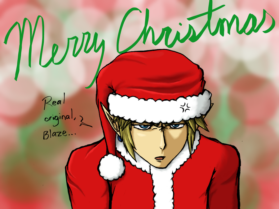 Christmas Link by BlazeDGO on DeviantArt