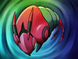 DEP - Venipede by BlazeDGO