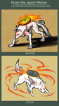 Before and After: Amaterasu