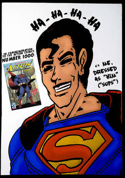 In commemoration to the Action Comics number 1000