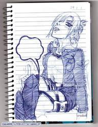 Sketchbook - Caderno de Rascunhos - 54
