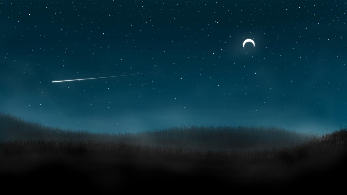 Night Hill Moonlight Wallpaper By DanielThorndyke
