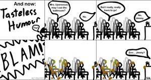 58CS: Tasteless Humour